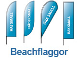 Beachflaggor